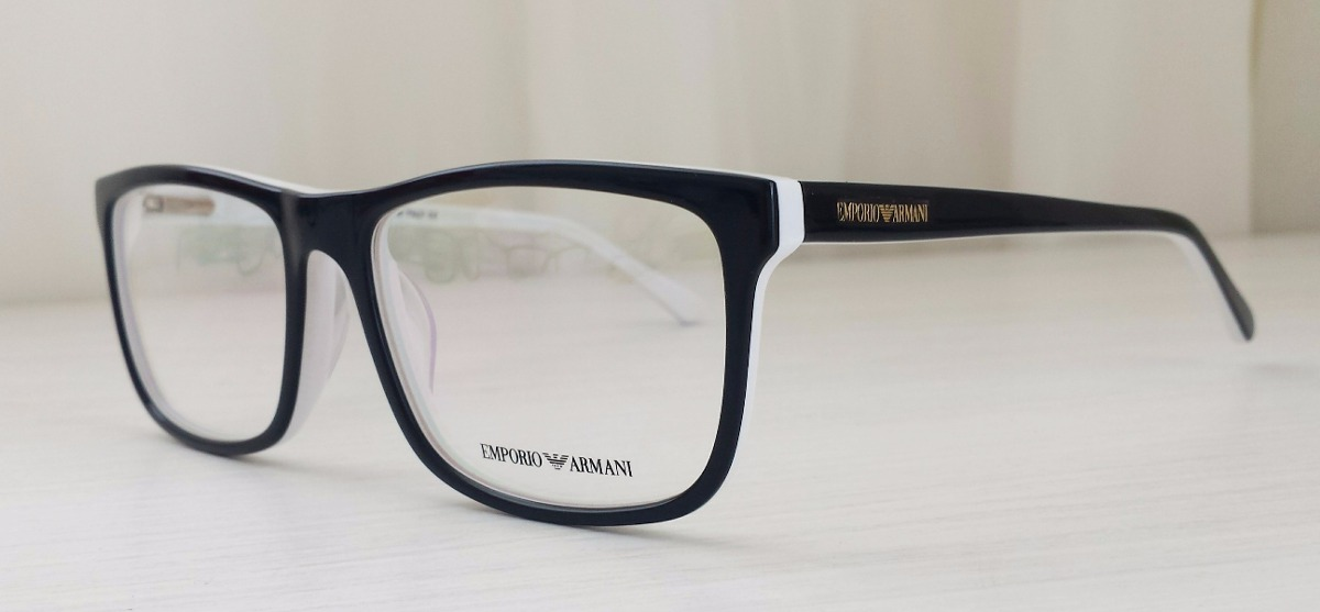 Armação Óculos De Grau Masculino Armani Ea3067 - R  114,00 em ... 7e0a10a09c