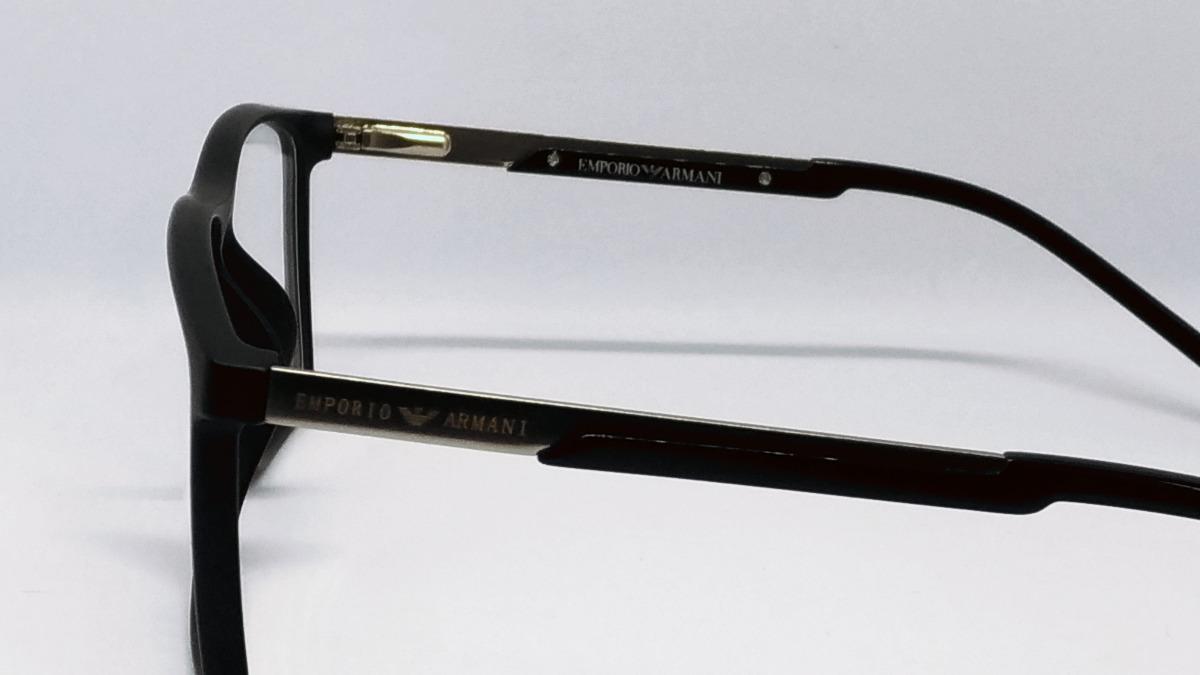 b7cb628ac25d9 Carregando zoom... oculos armani armação. Carregando zoom... armação p  oculos masculino preto armani tr90 modelo ea 138