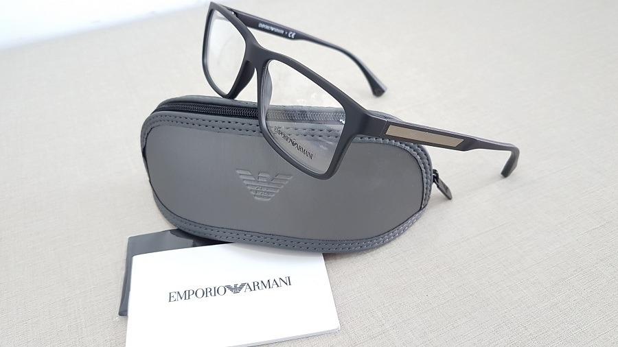 a377e8f7e35bc armação oculos grau emporio armani ea3038 5063 tamanho 54. Carregando  zoom... armação oculos armani. Carregando zoom.