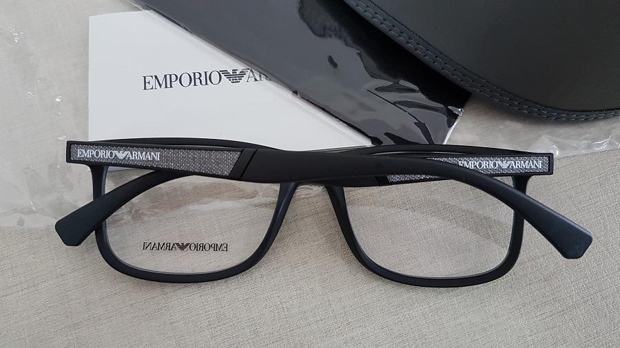 130b3b7c6342c armação oculos grau emporio armani ea3112 5042 56 preto. Carregando zoom... armação  oculos armani. Carregando zoom.