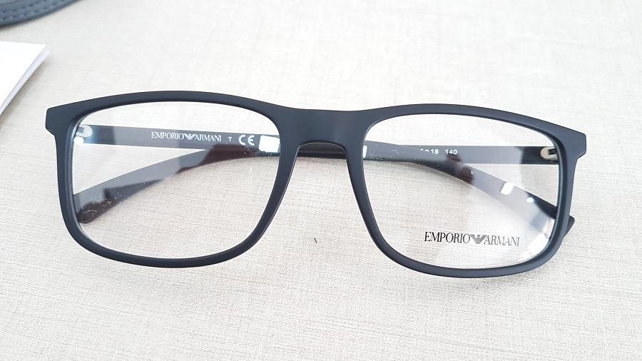 armação oculos grau emporio armani ea3135 5063 preto fosco. Carregando  zoom... armação oculos armani. Carregando zoom. c9d3d68e38
