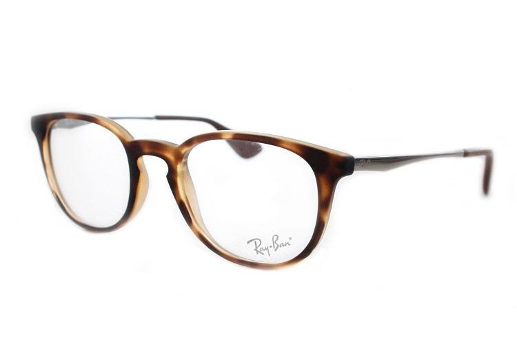 7b344b43d5f5a Armação Óculos Arredondado Ray-ban Rb 7099l 5365 Original - R  395 ...