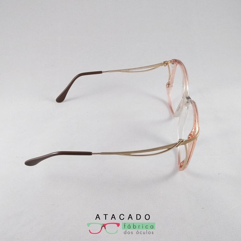 907345bdbc535 Armação Óculos Charmant - R  49,00 em Mercado Livre