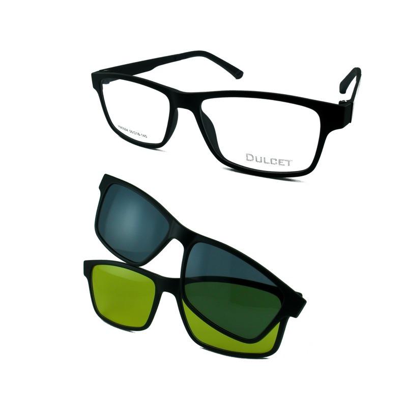 armação óculos clip on polarizado night driver ym5504 oferta. Carregando  zoom. ae18c3ab49