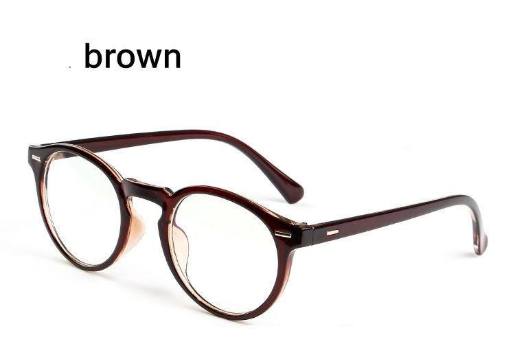 d5a17f48a Armação Óculos D Grau Acetato Redondo Masculino Feminino Bo - R$ 39 ...