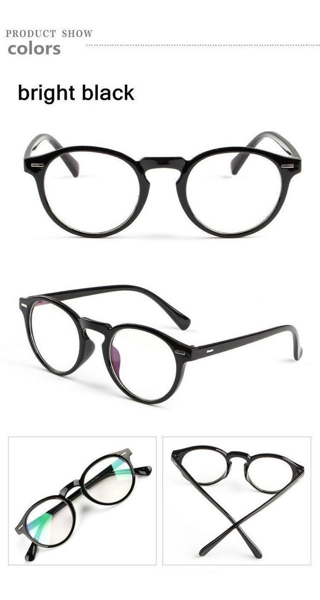 daf38173a Armação Óculos D Grau Acetato Redondo Masculino Feminino Bo - R$ 39,99 em  Mercado Livre
