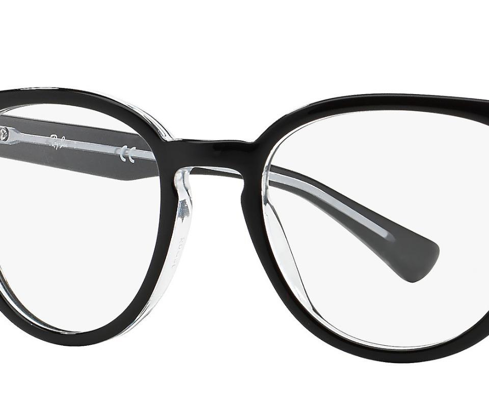 0dbc88b05 Armação Óculos De Grau 5311 Da Ray Ban Redondo Preto - R$ 113,00 em ...