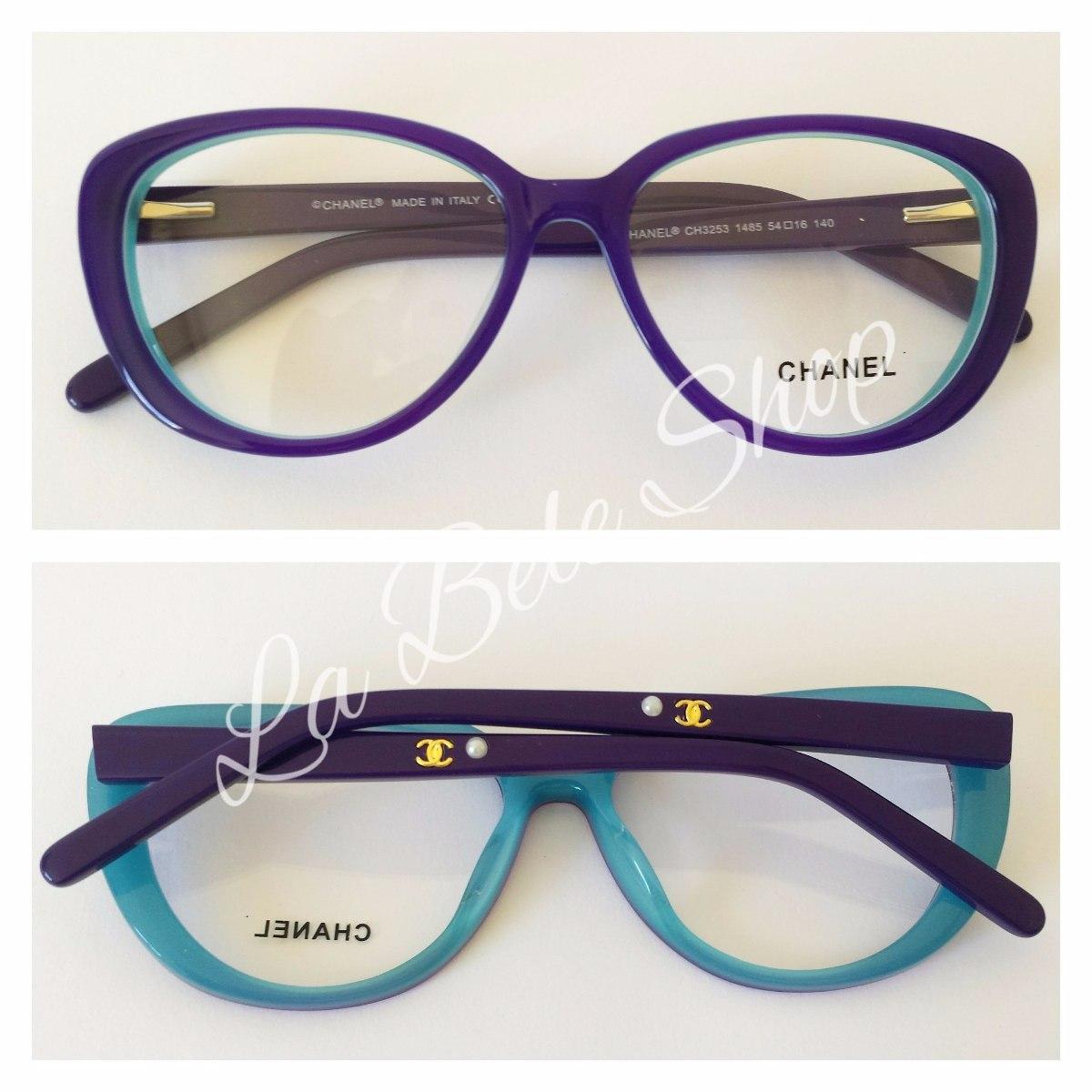 3378ce12770ec armação óculos de grau acetato feminino ch3257. Carregando zoom.