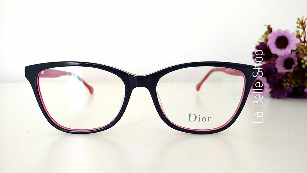 Armação Óculos De Grau Acetato Feminino Do1502 - R  120,19 em ... 9df8802b18