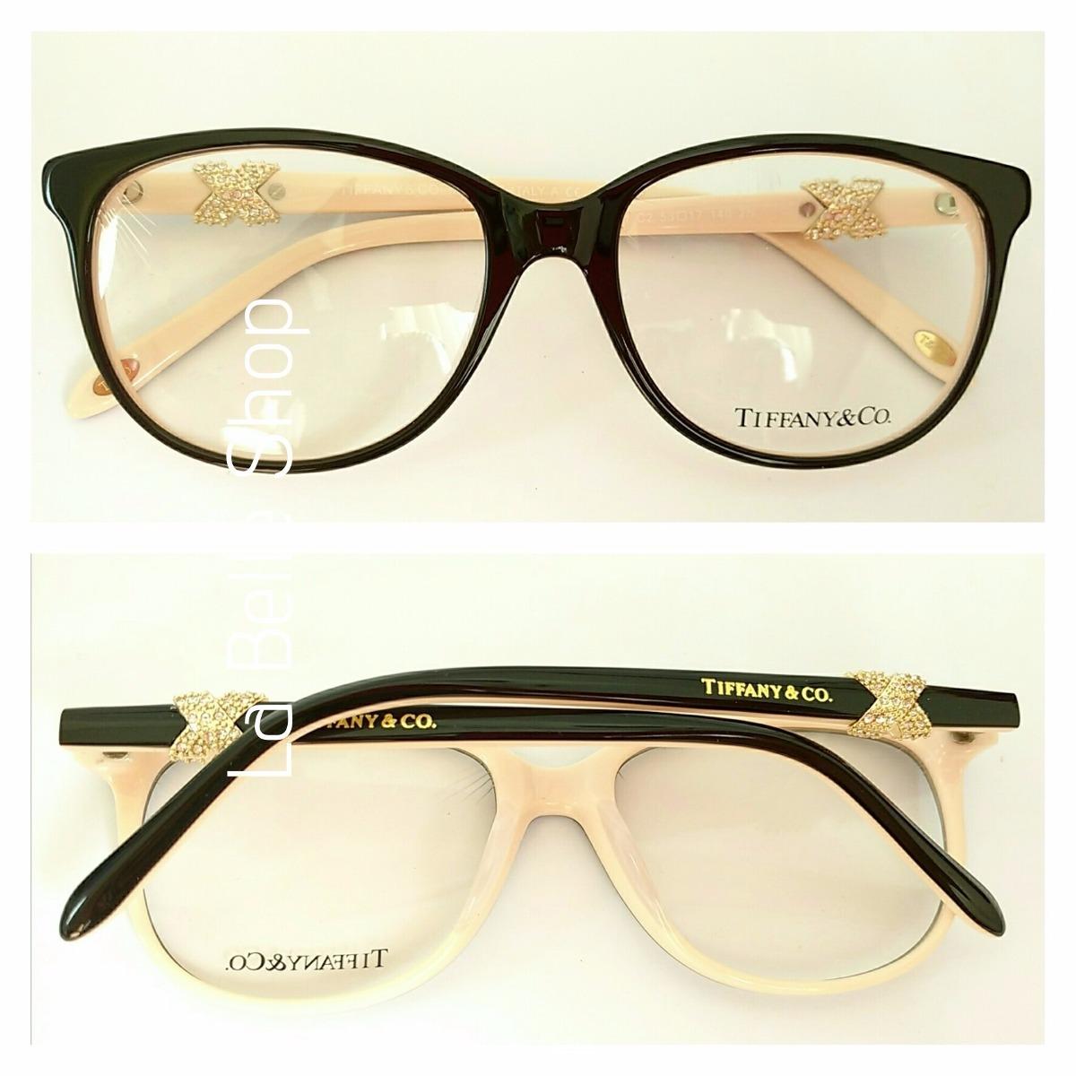 b72febfb058d7 Armação Óculos De Grau Acetato Feminino Tiffany - R  124,00 em ...