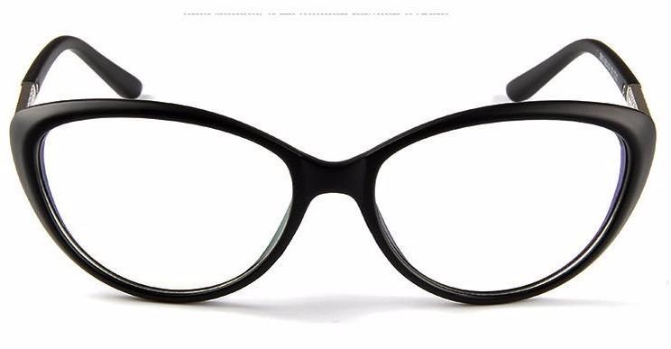d55ac6e1ef63a Armação Óculos De Grau Acetato Gatinho Feminino Cat Miau Va - R  29 ...