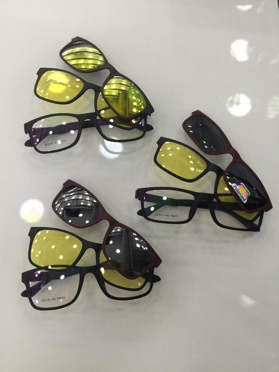f2304d9ec armação óculos de grau acetato junto com óculos de sol novo. Carregando  zoom.