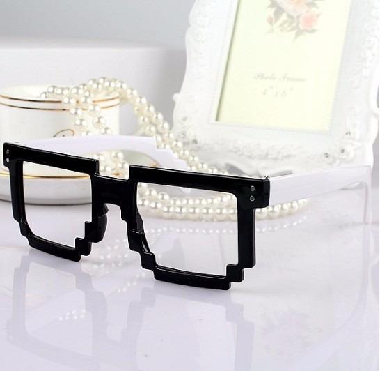 e74fcfd2b Armação Óculos De Grau Acetato Minecraft Pixel Infantil Bz - R$ 39 ...