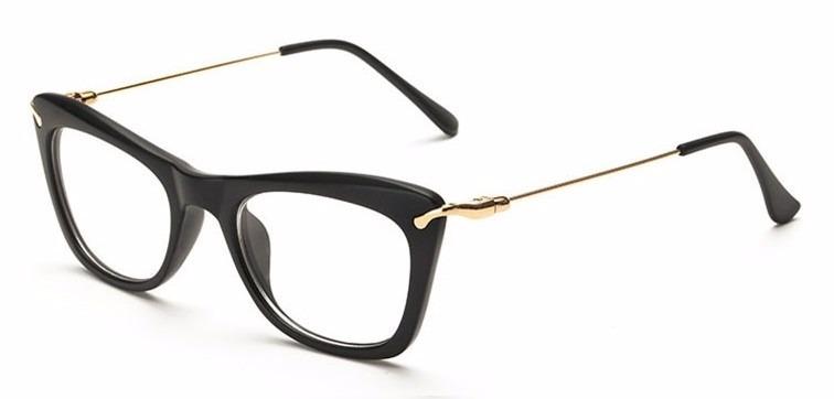 c4626634d9b52 Armação Óculos De Grau Acetato Quadrado Feminino Gatinho Cd - R  29 ...