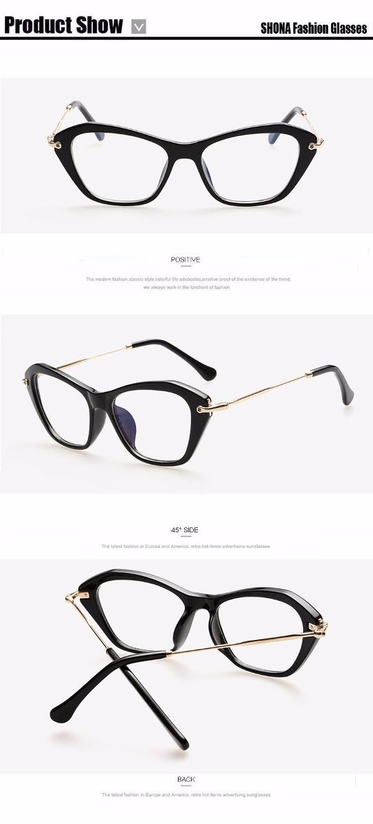 9f78597993b9b armação óculos de grau acetato quadrado feminino gatinho cd. Carregando  zoom.