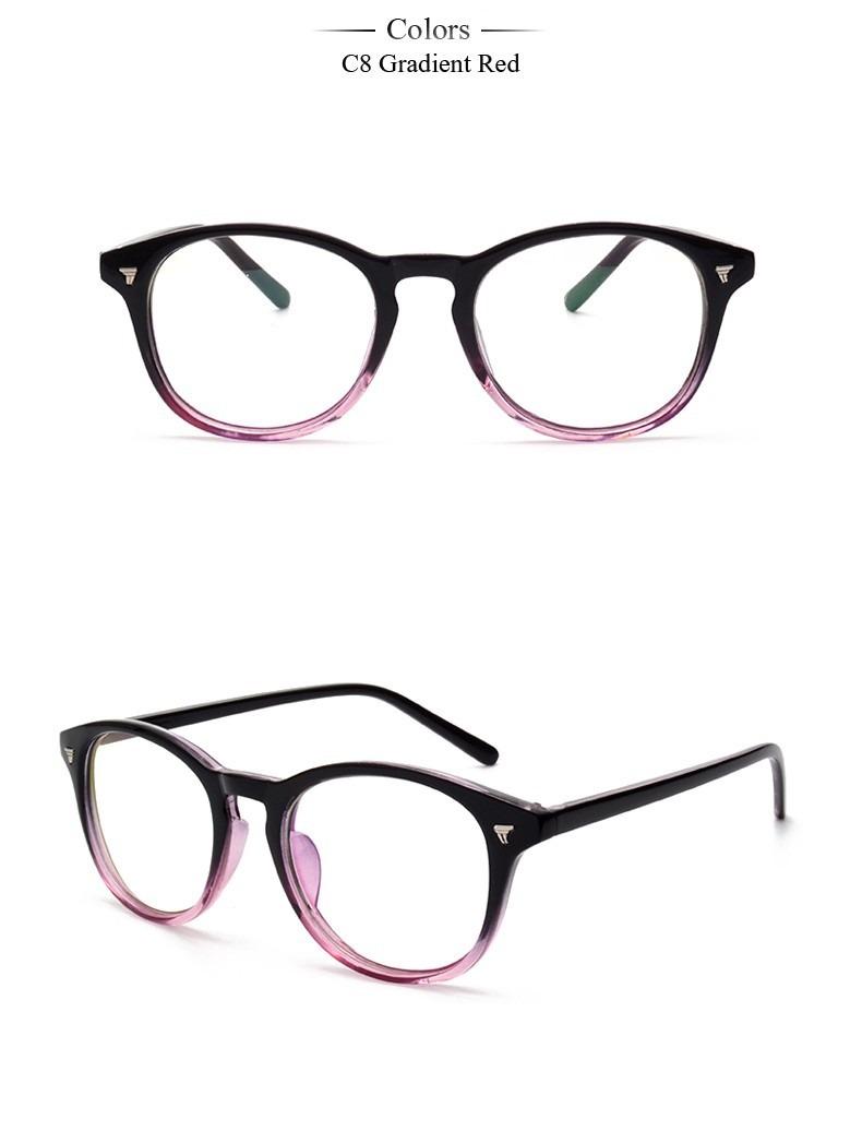 3c4198bc3228e armação óculos de grau - acetato redondo degrade feminino aa. Carregando  zoom.