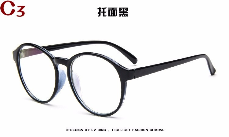fe8555eab Armação Óculos De Grau Acetato Redondo Masculino Feminino Bu - R$ 39 ...