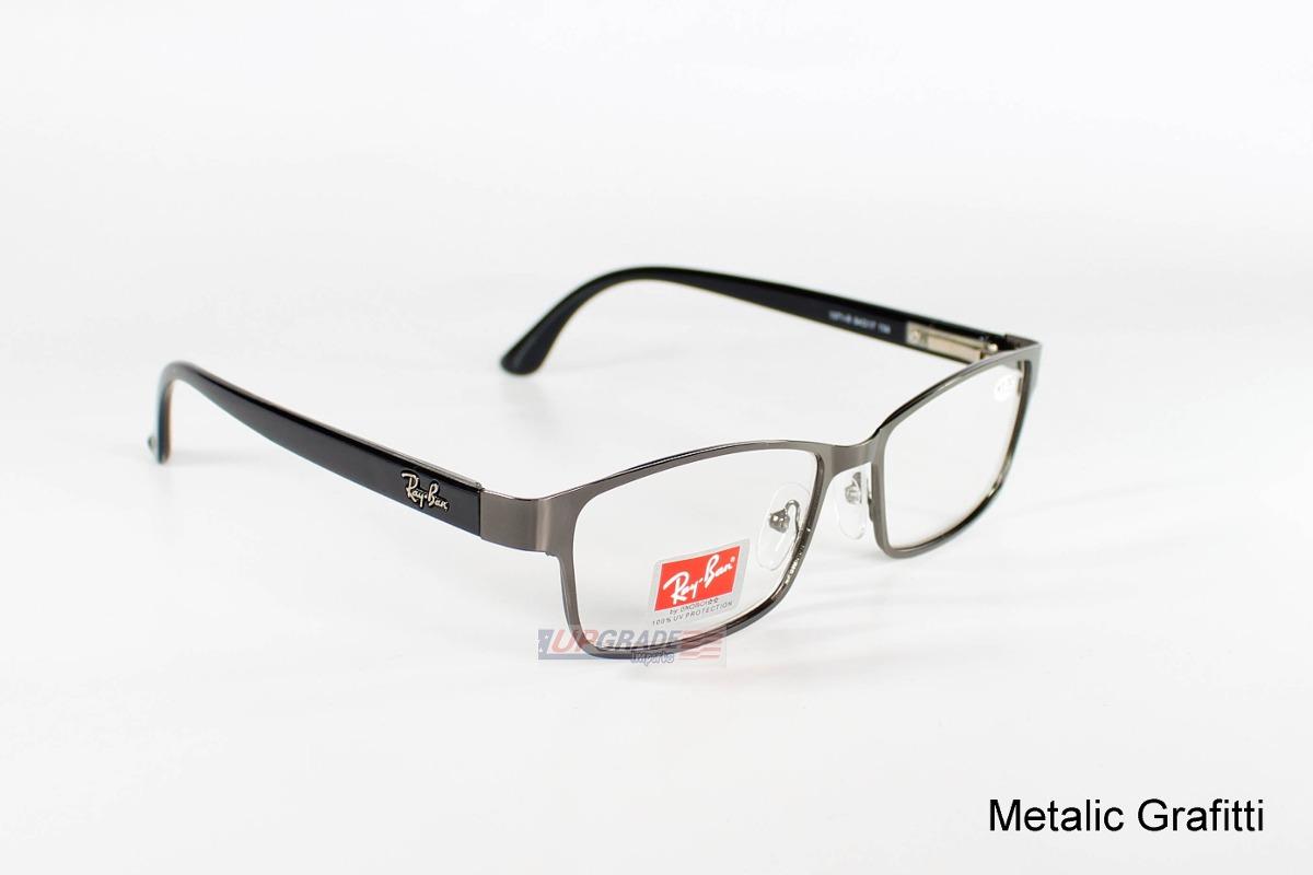 1a880f765 armação oculos de grau barato rayban unissex acetato. Carregando zoom.