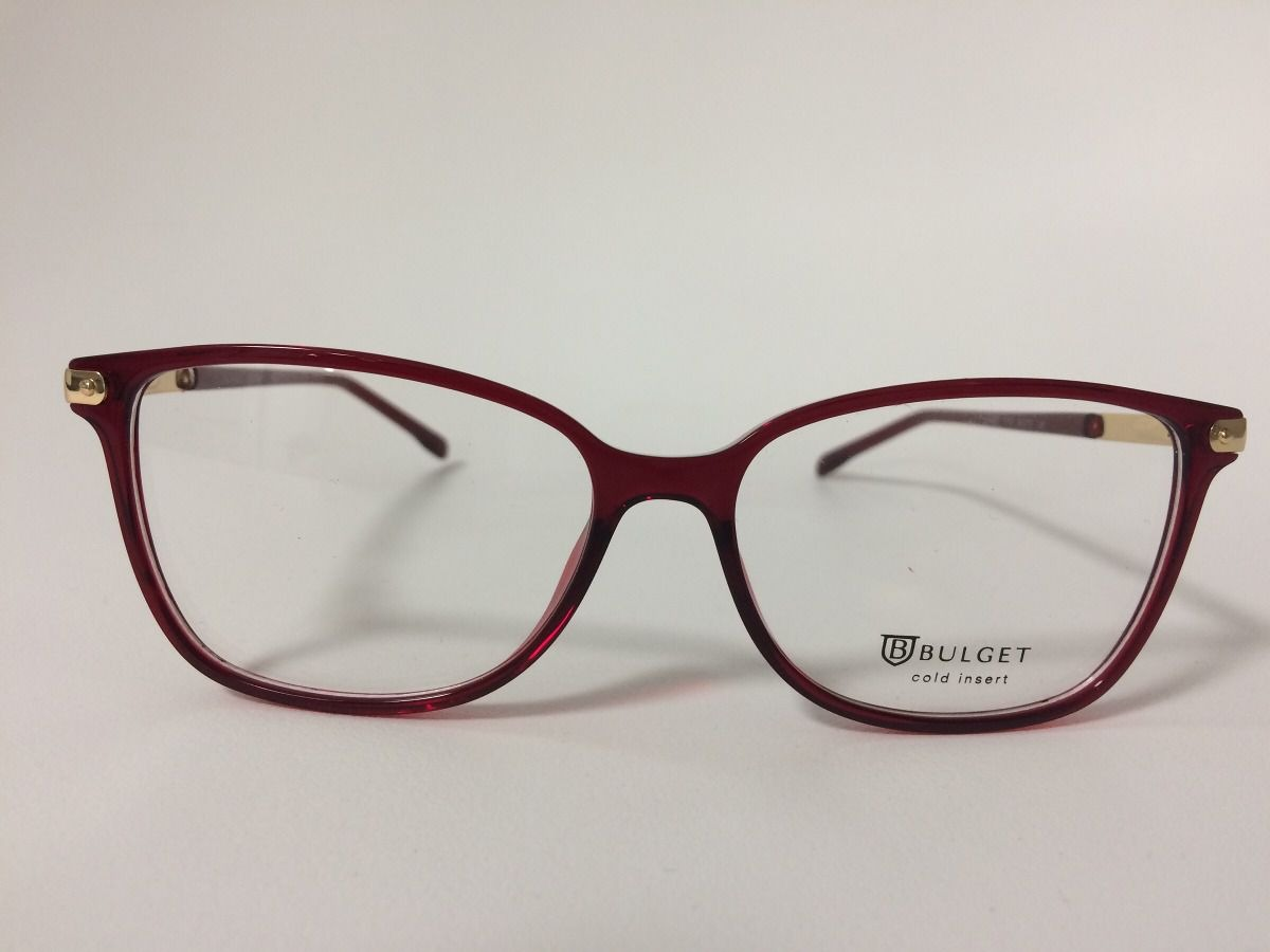 2ccd7aa41 Armação Óculos De Grau Bulget Bg4062 T03s - R$ 224,00 em Mercado Livre