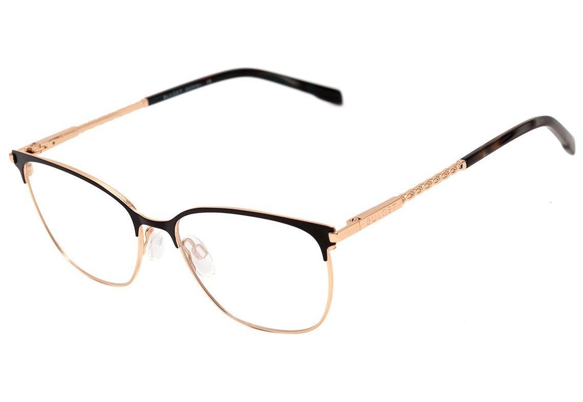 bdf67253c Armação Óculos De Grau Bulget Feminino Bg1602 09a - R$ 269,80 em ...