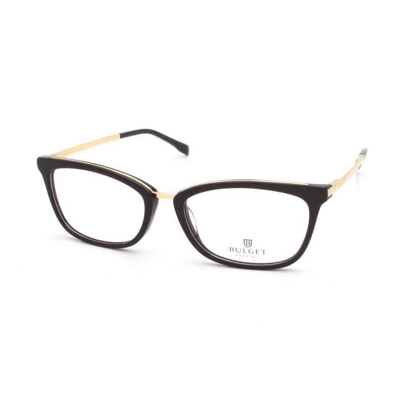 3cbef9f7e860b Armação Óculos De Grau Bulget Feminino Bg6274 D01 - R  269
