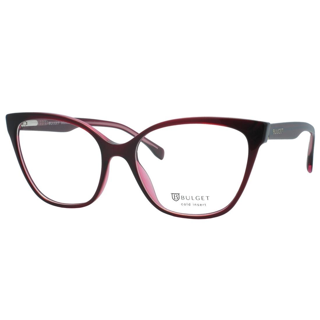 ae35c958d Armação Óculos De Grau Bulget Feminino Bg6282i H01 - R$ 260,45 em ...