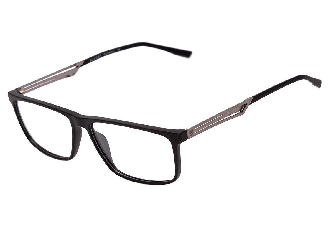 1e00e6aab Armação Óculos De Grau Bulget Masculino Bg4113 A01 - R$ 223,90 em ...