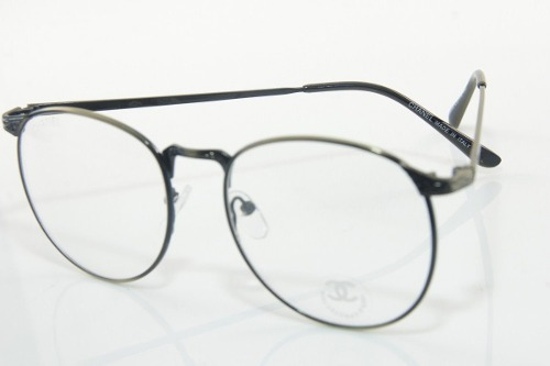 1f34f18d9c64c Armação - Óculos De Grau Chanel Retro Vintage Redonda 9535 - R  72 ...