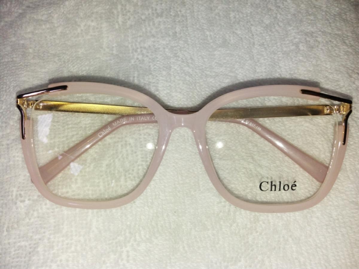 226adb8034b99 armação óculos de grau chloé lançamento + brinde especial. Carregando zoom.