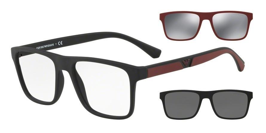 Armação Óculos De Grau Clip On Emporio Armani Ea 4115 - R  398,00 em ... 3167b5a305