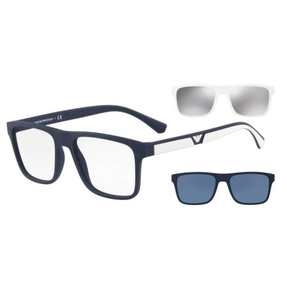 849748f79d50c armação óculos de grau clip on emporio armani ea4115 5669 1w. Carregando  zoom.