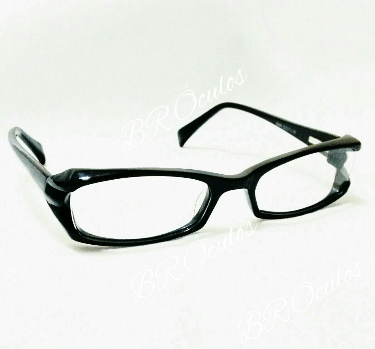 028008fe0 Armação Óculos De Grau Designer Italiano Preto - R$ 29,99 em Mercado ...