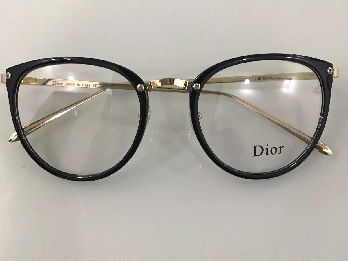 9c94c93cd5cec armação óculos de grau dior feminino redondo + brinde! Carregando zoom.