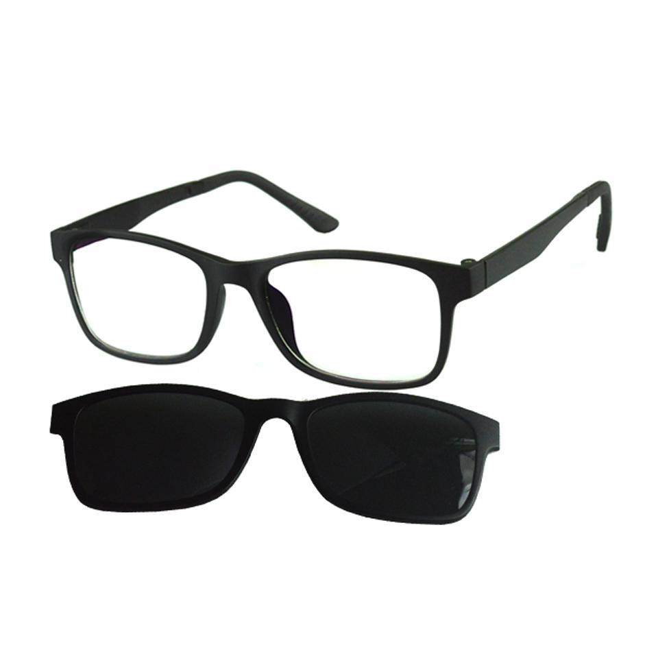 8b9075a48 Armação Óculos De Grau E Sol Feminino Original Clipon 6203 - R$ 250 ...