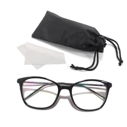bcc272565 Armação Óculos De Grau Em Acetato Com Hastes Finas Feminina - R$ 43,20 em  Mercado Livre