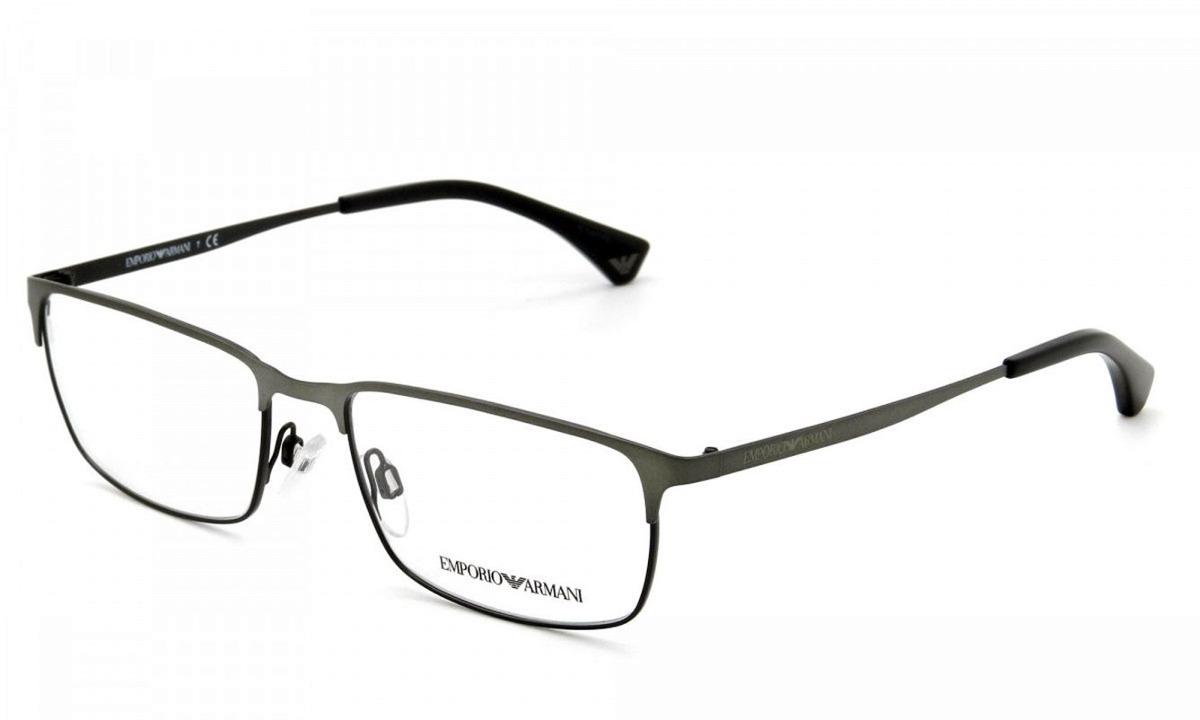 1436d3b305822 Armação Óculos De Grau Emporio Armani Ea 1042 3126 - R  339,00 em