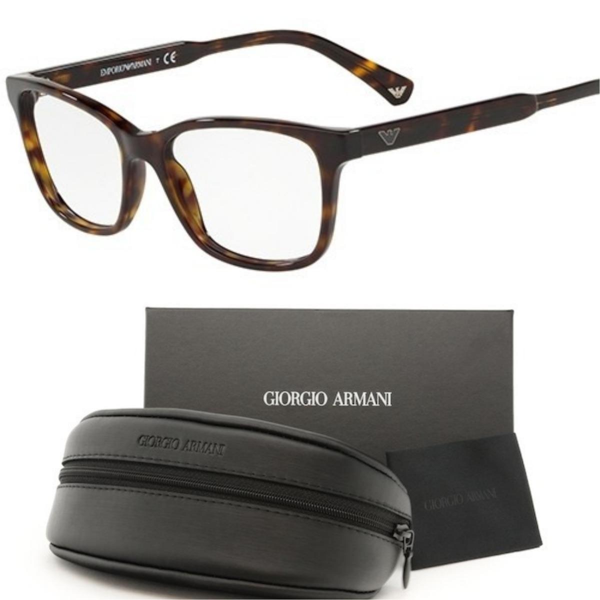 Armação Oculos De Grau Emporio Armani Ea3121 Tartaruga - R  338,90 em  Mercado Livre b006889d59