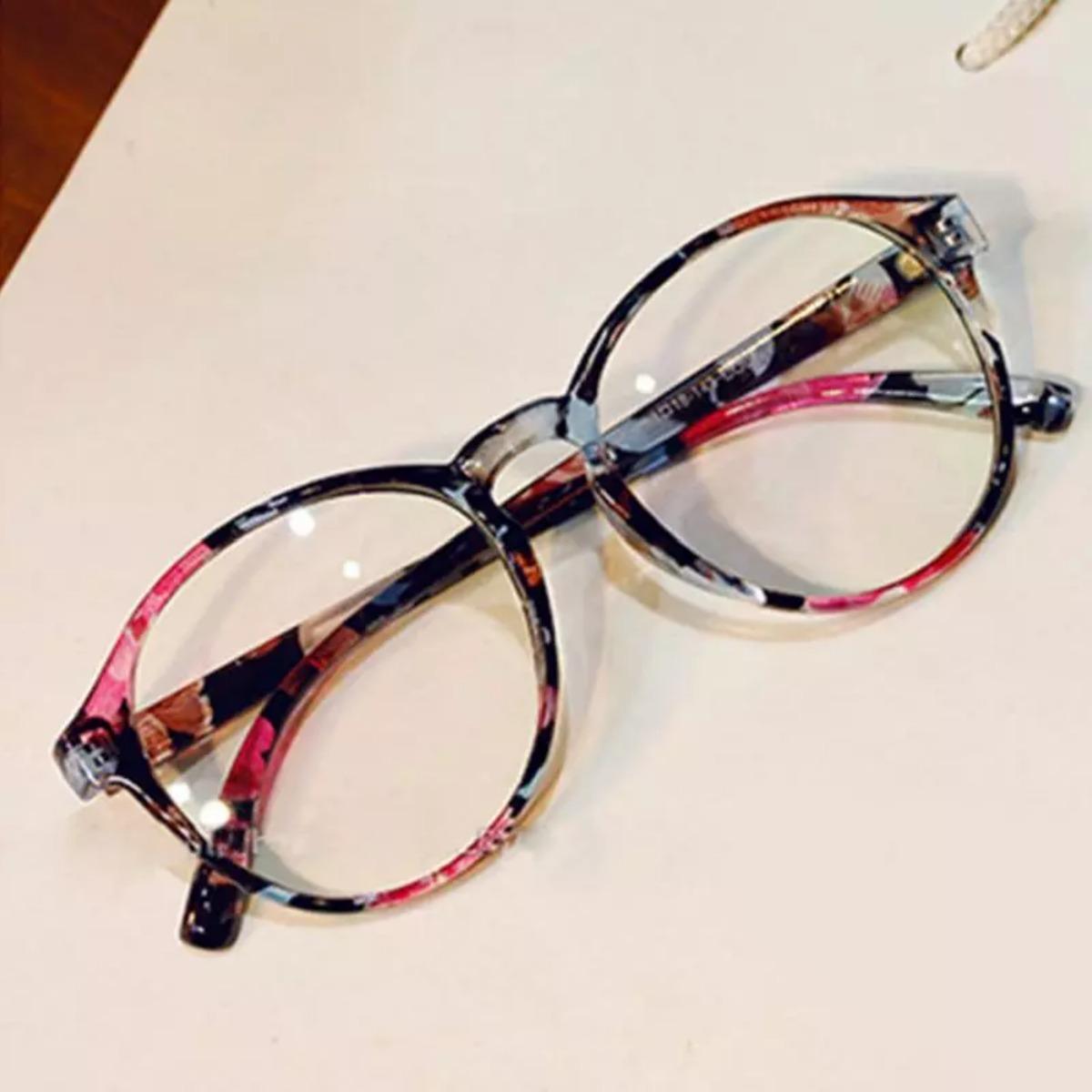 f933f377f05be armação óculos de grau estampado retrô vintage fashion moda. Carregando  zoom.