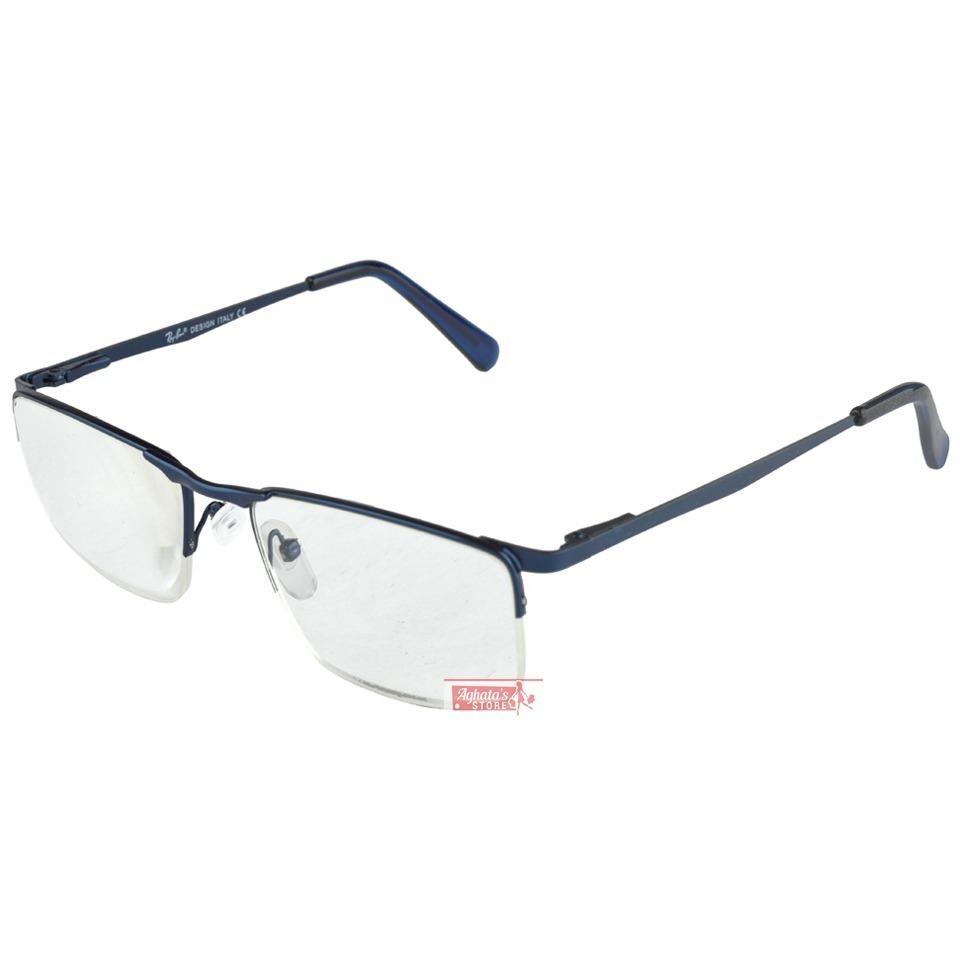 fdea1327e armação oculos de grau estilo rayban sem aro masculino 1681. Carregando zoom .