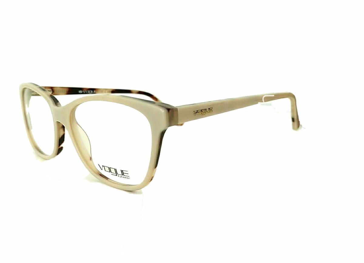 47c9355dc3a Armação Óculos De Grau Feminina Acetato Vo2904 - R  79