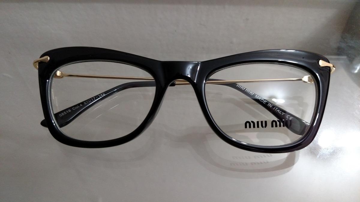 Armação Óculos De Grau Feminina Gatinho - R  120,00 em Mercado Livre 4a50e34ad1
