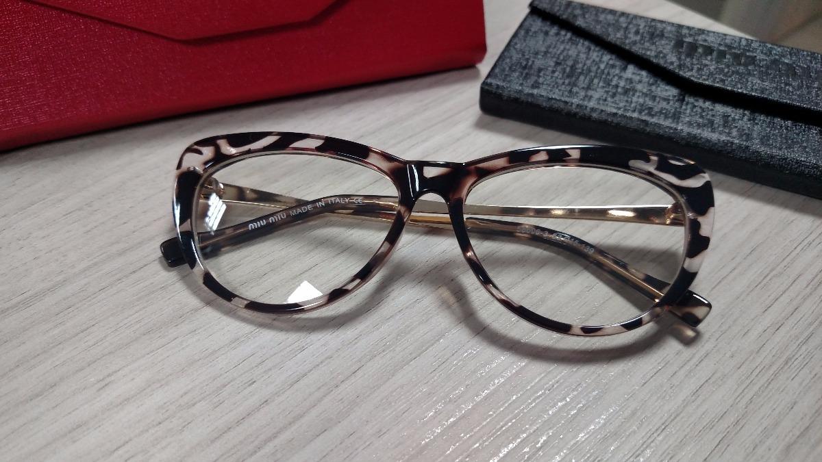 Armação Óculos De Grau Feminina Gatinho Azul vermelha - R  120,00 em ... 4508fd1f19