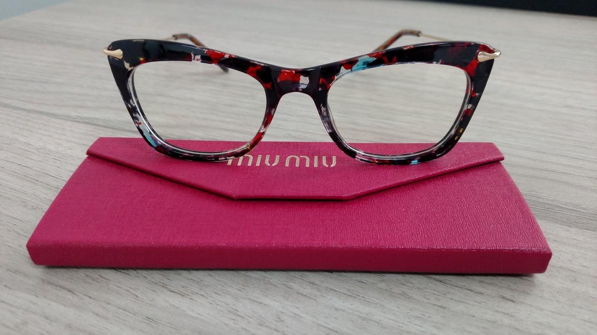 Armação Óculos De Grau Feminina Gatinho Havana - R  99,90 em Mercado ... af6512c1bd