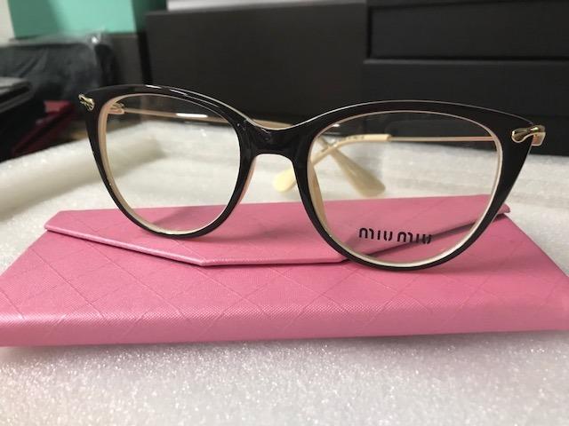 Armação Óculos De Grau Feminina Gatinho Marrom bege - R  120,00 em ... a7e3454207