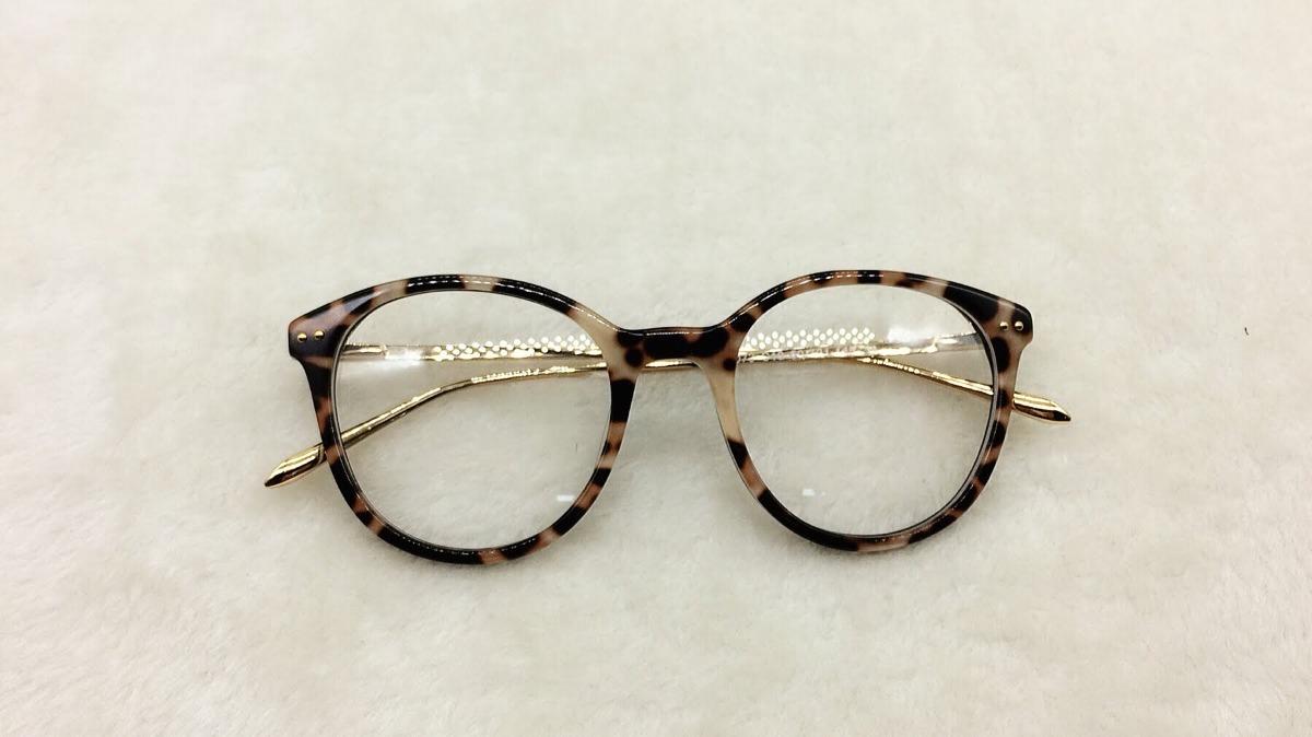 armação óculos de grau feminina nerd redondo imperdível a047. Carregando  zoom. 9a428469a0
