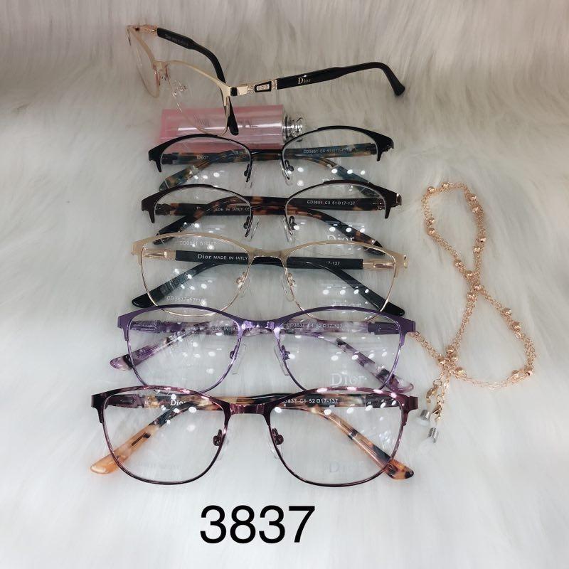 a7c7f73ba5731 Armação Óculos De Grau Feminina Vintage Mod. 3837 Em Metal - R  64 ...