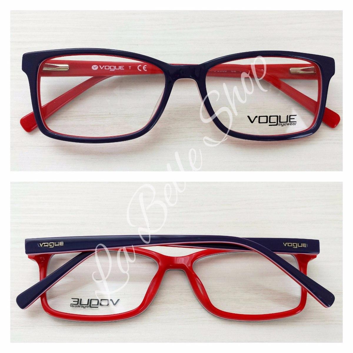 622494a1b1c80 armação óculos de grau feminino acetato vo 2966. Carregando zoom.