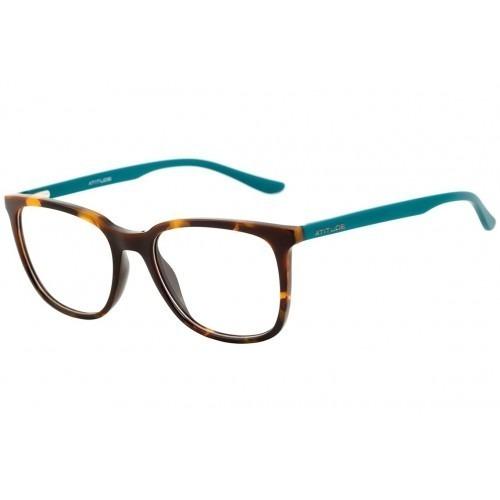 Armação Óculos De Grau Feminino - Atitude At 4060 - Quadrad - R  200 ... d269b2be76