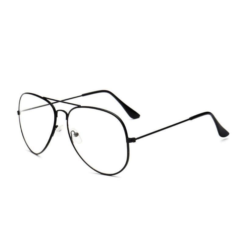 armação óculos de grau feminino aviador preto original 088. Carregando zoom. 6664c6edcf
