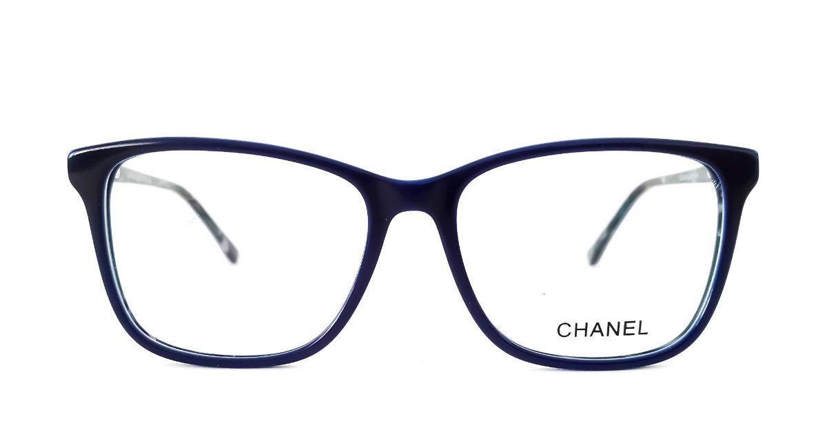 Armação Óculos De Grau Feminino Chanel 3341 Acetato Luxo - R  120,00 em  Mercado Livre bc92821104